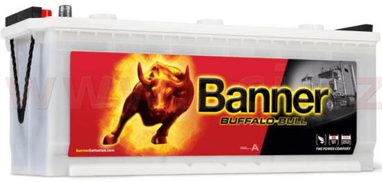 Banner 120Ah baterie, 720A, levá BANNER Buffalo Bull 514x189x195(220) 62034