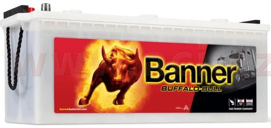 Banner 180Ah baterie, 950A, levá BANNER Buffalo Bull 514x223x195(220) 68032