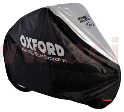 Oxford plachta na kolo Aquatex, OXFORD (černá/stříbrná) CC100