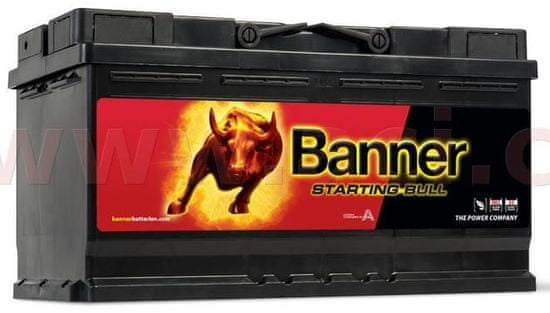 Banner 95Ah baterie, 740A, pravá BANNER Starting Bull 354x175x190 59533
