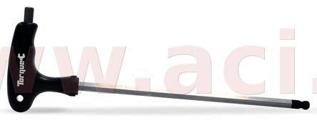 Oxford prodloužený imbus zahnutý s plastovou rukojetí HEX WRENCH TORQUE, OXFORD (8 mm) TL126