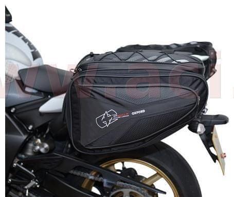 Oxford boční brašny na motocykl P60R, OXFORD (černé, objem 60 l, pár) OL305