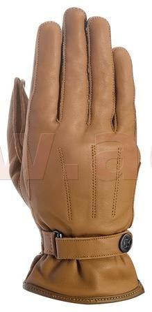 Oxford rukavice HOLTON, OXFORD (světle hnědé) (Velikost: M) M120-327