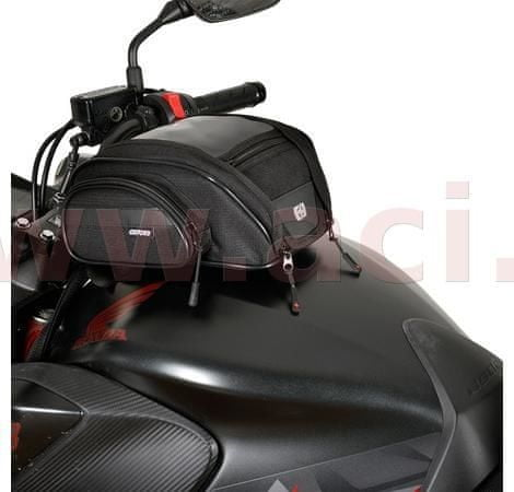 Oxford tankbag na motocykl F1 Mini, OXFORD (černý, objem 7 l) OL440