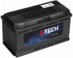 A-tech 100Ah EFB baterie START-STOP, 800A, pravá A-TECH EFB 354x175x190 60005