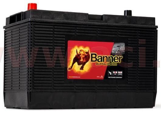 Banner 105Ah baterie 1000A BANNER pro užitková vozidla CATERPILLAR 330x171x218(241) 60502