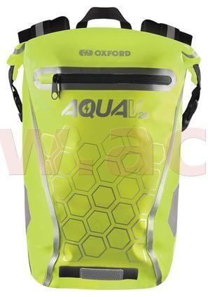 Oxford vodotěsný batoh AQUA V20, OXFORD (žlutá fluo, objem 20 L) OL697