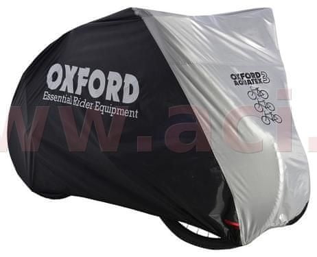 Oxford plachta na tři kola Aquatex, OXFORD (černá/stříbrná) CC102