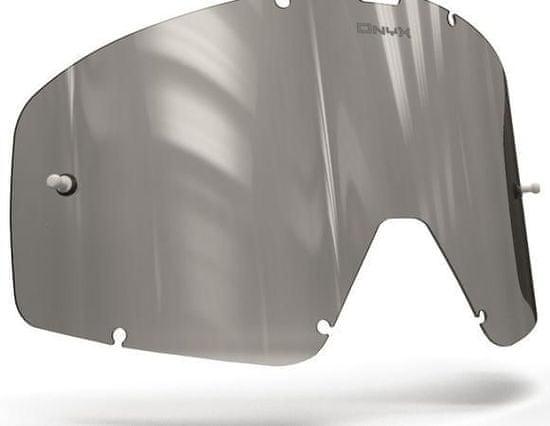 Fox Racing plexi pro brýle FOX RACING MAIN, ONYX LENSES (šedé s polarizací) 15-142-01