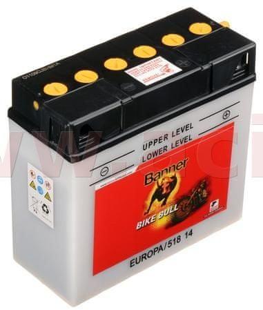 Banner baterie 12V, 12N16A-3B, 19Ah, 150A, BANNER Bike Bull 186x82x171 51814
