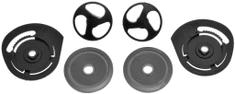 Cassida víčka plexi pro přilby Magnum/Reflex, CASSIDA - ČR (sada vč. vnitřního mechanismu hledí) CAPS AND MECHANISM YM-623 PAIR