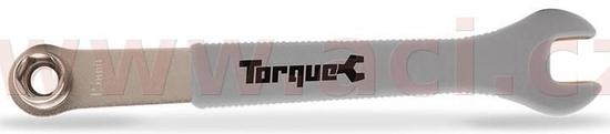 Oxford klíč pro montáž/demontáž pedálů 15 mm s očkovým klíčem 14 a 15 mm a rukojetí TORQUE, OXFORD TL108