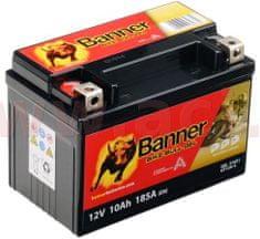 Banner baterie gelová 12V, GT12A-4, 10Ah, 185A, BANNER Bike Bull GEL 150x87x106 GEL 510 21