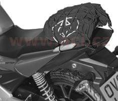 Oxford pružná zavazadlová síť pro motocykly, OXFORD (27 x 25 cm, černá/reflexní) OX658