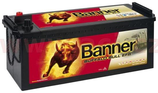 Banner 150Ah baterie, 850A, levá BANNER Buffalo Bull EFB 513x189x195(220) EFB65017