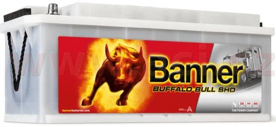 Banner 170Ah baterie, 1000A, levá BANNER Buffalo Bull SHD 514x218x210 SHD67033