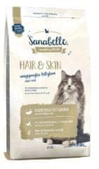 Sanabelle Hair & Skin suha hrana za odrasle mačke, 2 kg