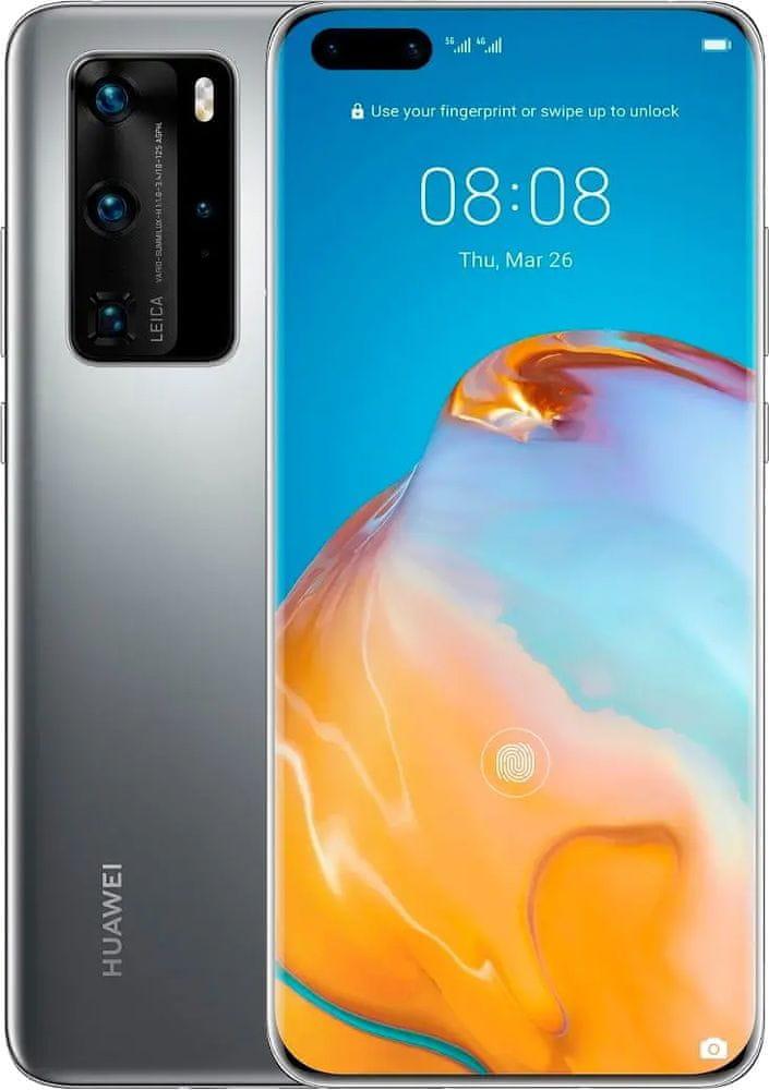 Huawei P40 Pro 5G, 8GB/256GB, Grey - rozbaleno