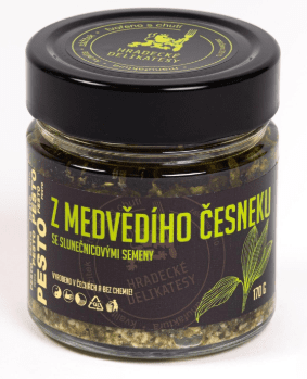 Hradecké Delikatesy Pesto z medvědího česneku 100g