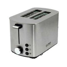 First Austria toaster, 850 W, nerjaveče jeklo