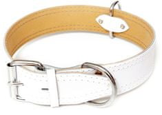 BAFPET ovratnica za psa HERRY, bela, velikosti S