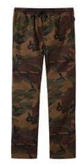 Vans chlapecké kalhoty BY RANGE PANT BOYS Camo L hnědá