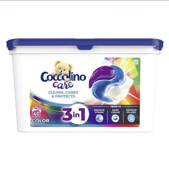 Coccolino Care mosókapszula - Színes ruhanemű - 40 adag