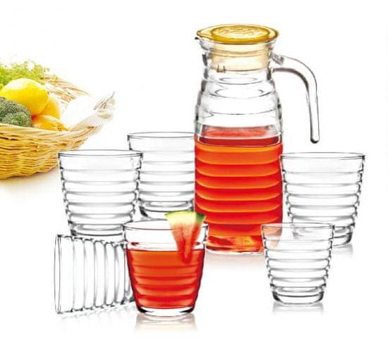 B. Bohemian Nápojová súprava 7 dielna krčah+poháre