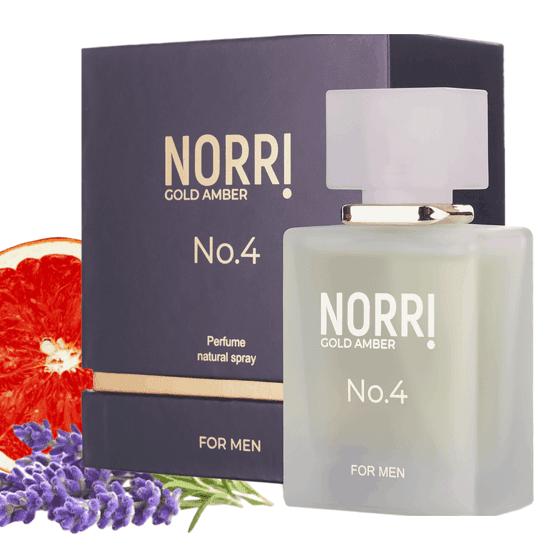 NORRI Gold Amber N°4 50 ml (pánsky parfém)
