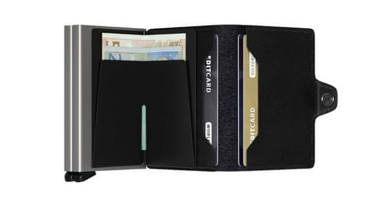 Secrid Kožená černá minipeněženka SECRID Twinwallet original TO-Black SECRID