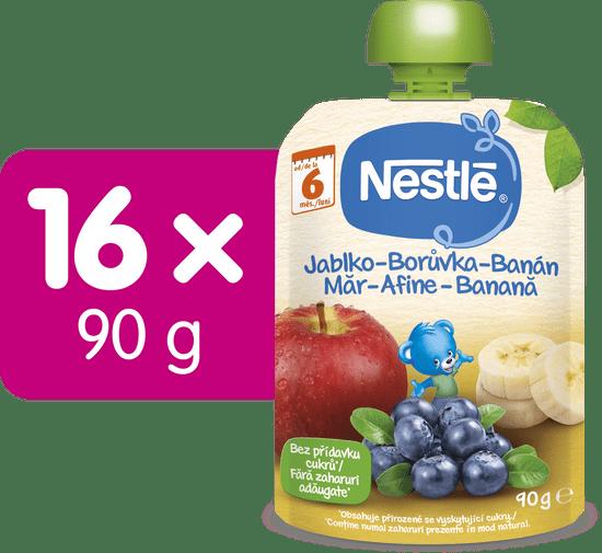 Nestlé kapsička Jablko Borůvka Banán, 16x 90g