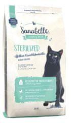 Sanabelle Sterilized suha hrana za mačke, 2 kg