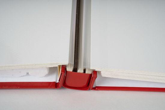 FANDY Fotoalbum samolepicí 27x32,5 cm 60 stran Art 1 červené