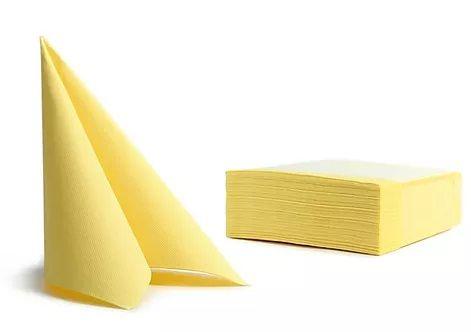 Pureba Soft Point servieti, 2-slojni, rumena, 38x38, 50 kos/pak.