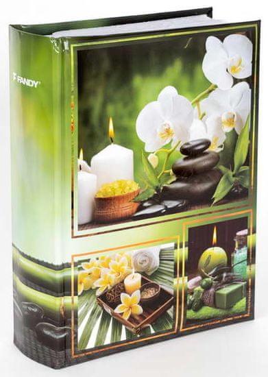 FANDY Fotoalbum 9x13 300 foto 2-up Candle 1 orchidej