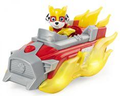 Spin Master Tlapková patrola Svítící vozidlo hrdiny se zvuky - Marshal
