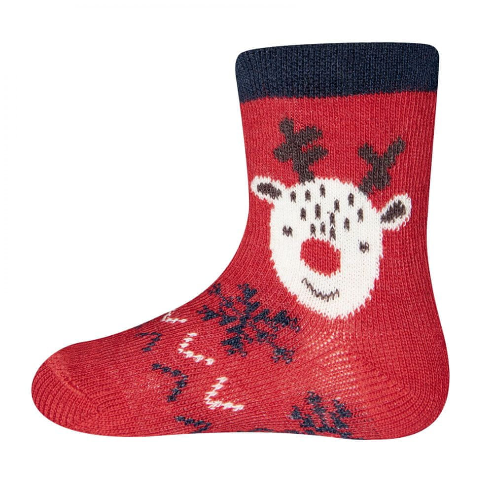 EWERS dětské ponožky 17 - 18 červená