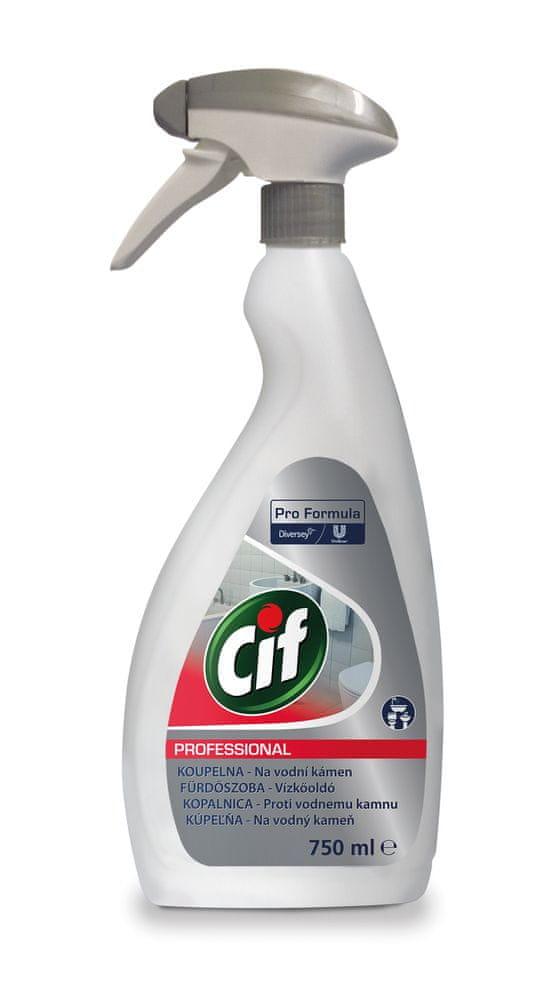 Cif Professional 2v1 - čistič na koupelny 0,75l
