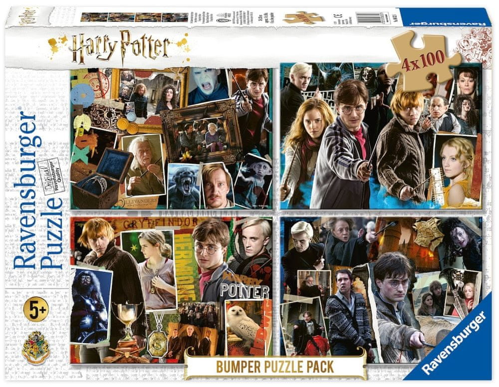 Ravensburger Puzzle 068326 Harry Potter set 4x100 dílků