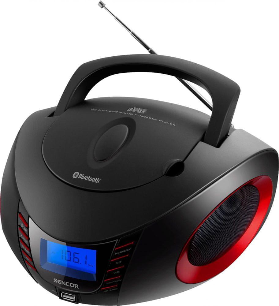 SENCOR SPT 3600, černá/červená