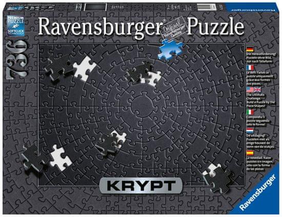 Ravensburger puzzle 152605 Krypt - Black 736 szt.