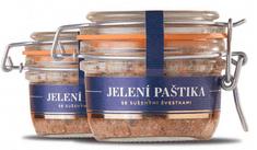 Paštéta Jelení Premium so sušenými slivkami 150g Čongrády