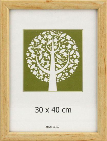 Karako Foto okvir 30x40 cm, plastika, stenski, 10-A natur