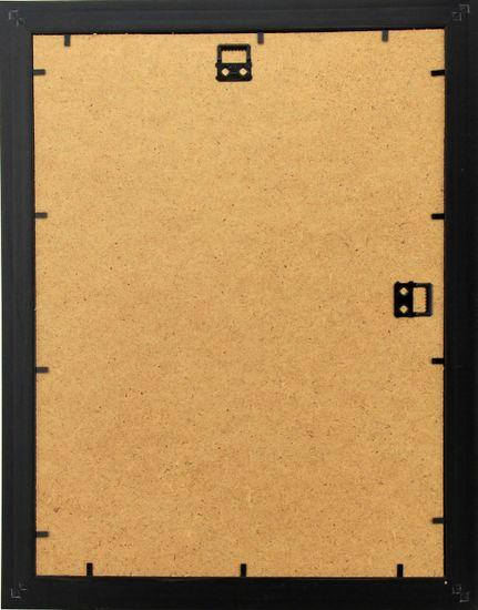 Karako Foto okvir 20x30 cm, plastika, stenski, 50 rjav