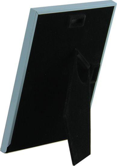 Karako Foto okvir 14x19 cm, kovina, namizni, stenski 5211 moder
