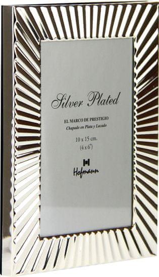 Hofmann Foto okvir 10x15 cm, kovina, namizni s tačko, 475