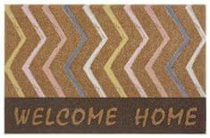 Protiskluzová rohožka Mujkoberec Original 104657 Brown/Multicolor 45x75