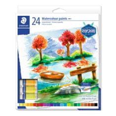 Staedtler Temperové farby Design Journey, 24 farieb, 12ml