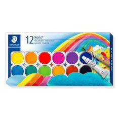 Staedtler Noris Club vodene barvice v plastični embalaži, 12 kos
