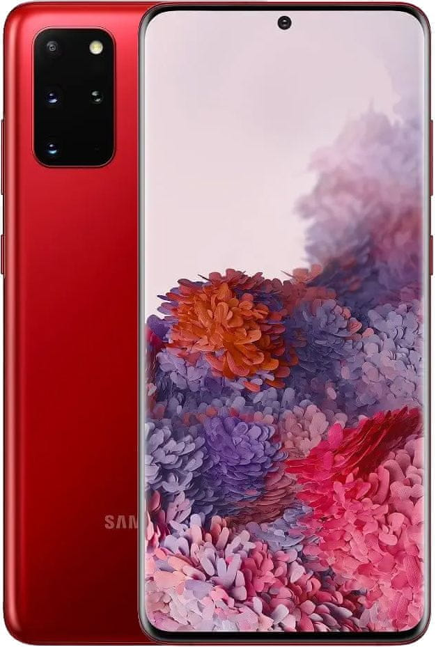 Samsung Galaxy S20+, 8GB/128GB, Red - rozbaleno
